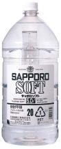 SAPPORO SOFT サッポロソフト 20度 5L ペット