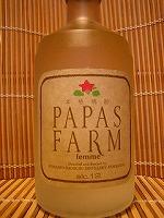 FARM パパスファーム じゃがいも焼酎 12度 720ml  清里町 清里町焼酎醸造事業所